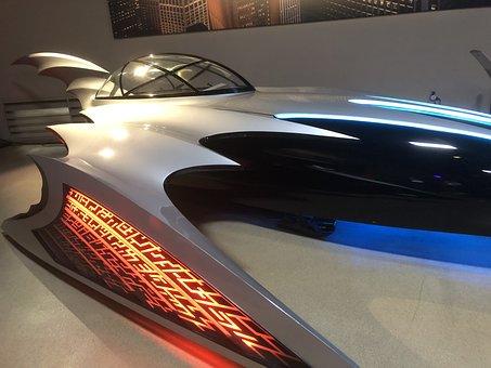 Car, Futuristic, Batman, Cyberpunk