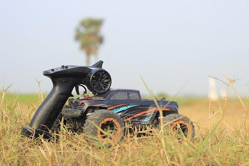 Remote Control, Car, Toy, Offroad, Key