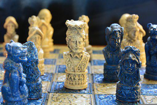 Chess, White King, Photo, Photorealistic, Harry Stoll