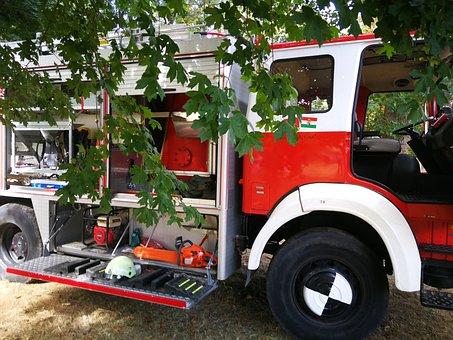 Fire Truck, Fire Fighting, Fire Department