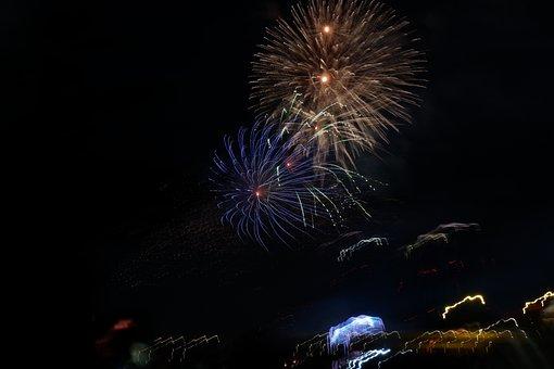 Firework, Newyear, Celebrate, Happy