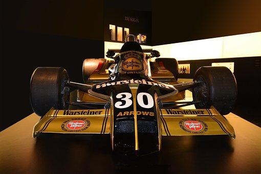 Formula 1 Car, Warsteiner, Harry Stoll, Photorealistic