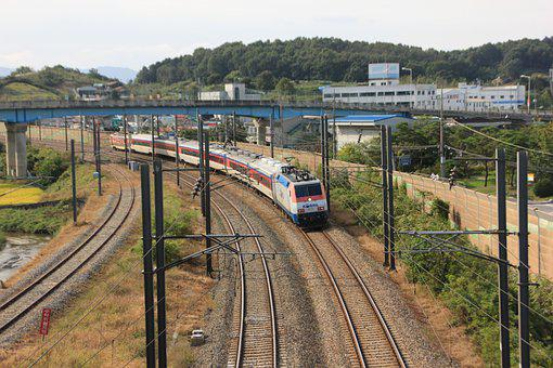 Korea, Railway, Transportation, Train, Vehicle