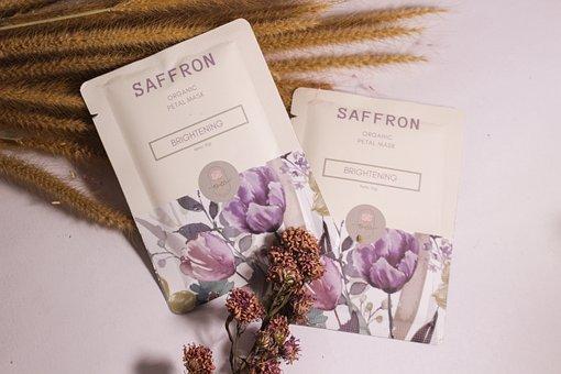 Saffron Organic Mask, Saffron Petal Mask, Saffron