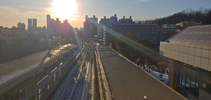 Subway, Cbd, Solar, Glow