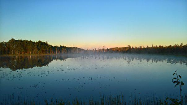 Night, Swedish Lapland, Autumn