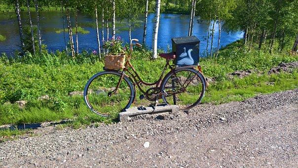 Swedish Lapland, Mailbox, Velo