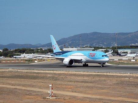 Plane, Airport, Flight, Travel, Aviation, Transport