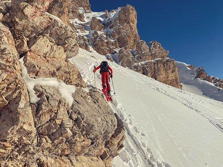 Backcountry Skiiing, Snow, Skiing, Winter Sports