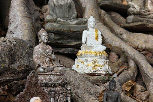 Buddha, Buddhism, Mindfulness, Meditation, Thailand