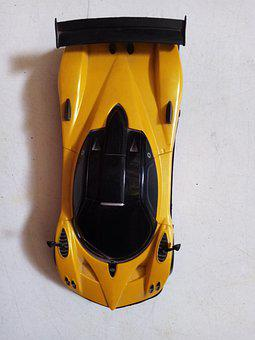 Car, Toy, Remote, Control, Supercar, Exotic, Pagani