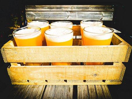 Beer, Crate, Wood, Alcohol, Beverage, Packaging, Drink