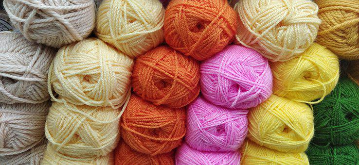 Wool, Stamen, Weaving, Crafts, Crochet, Thread, Yarn