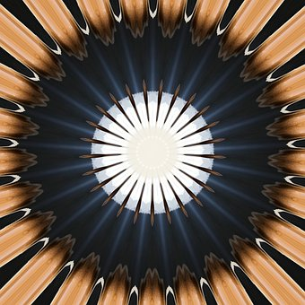 Kaleidoscope, Mandala, Default, Concentric, Design