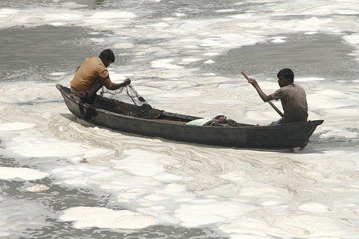 River Pollution, Dhaka, Bangladesh