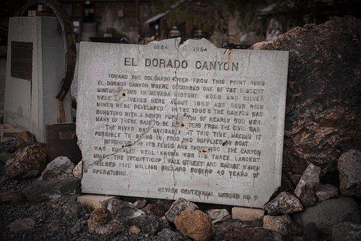 El Dorado Canyon, Mining, Techatticup, Monument, Travel