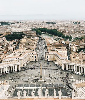 Europe, Sistine Chapel, Travel, Busy, People, View