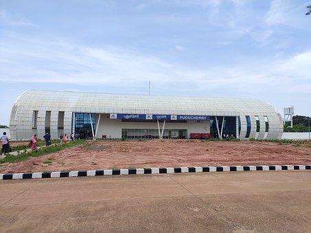 Airport, Pondicherry, Flight, Tourism, Airplane, Plane