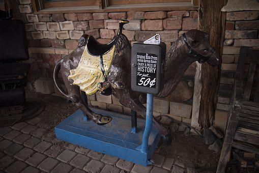 Vintage, Antique, Retro, Old, Ride On Horse, Pony Ride