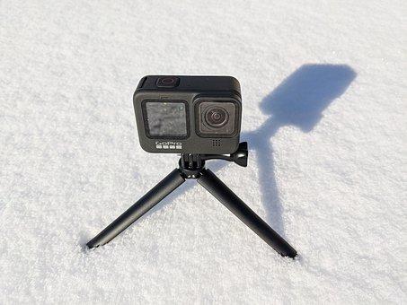 Gopro, Actioncam, Snow, Winter, Camera, Outdoor, Ice
