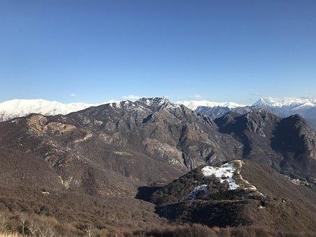 To The Monte Boglia, Alpine Route, Alps, Alpine