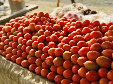 Tomatoes, Red, Food, Fresh, Vegetables, Ripe, Eat