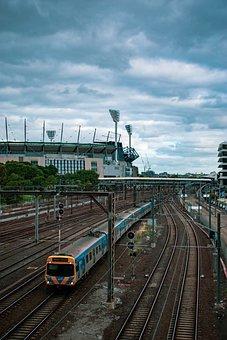 Train, Flinders Street Station, Flinders Street