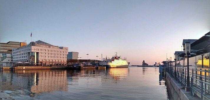 Sea, Port, Ship, Water, Boat, Travel, City, Sweden