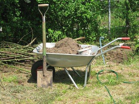 Work In The Garden, Garden, Vegetable Garden, Soil
