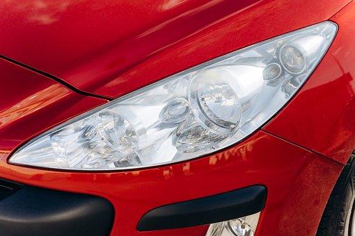 Headlamp, Car, Vehicle, Headlight, Light, Car Light