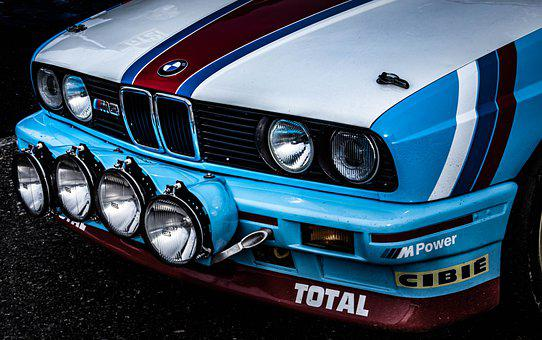 Car, Vehicle, Bmw, Rally, Sports, Speed, Old, Oldtimer