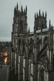 York Minster, Cathedral, Architecture, Church, Gothic