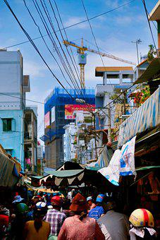 Vietnam, Hcmc, Saigon, City, Asia, Female, Woman