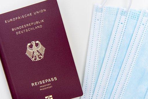 Flight, Travel, Corona, Mask, Pass, Passport, Infection