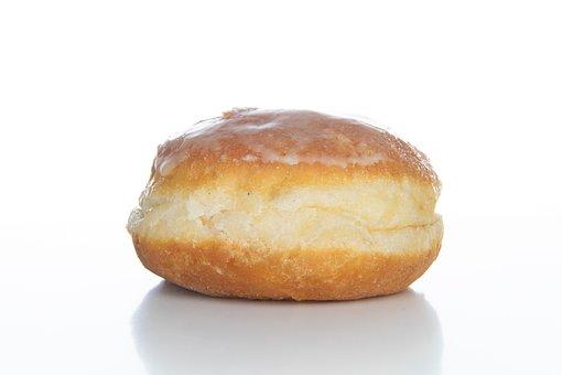 Filling, Berlin, Donut, Carnival, Sugar, Cake, Sweet