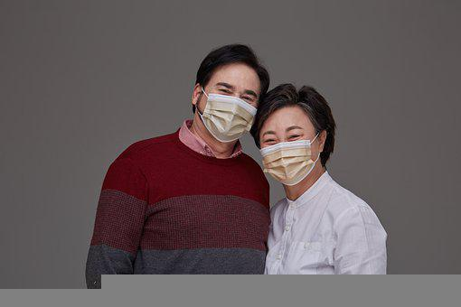 Couple, Face Mask, Korean, Protection, Safety, Hygiene