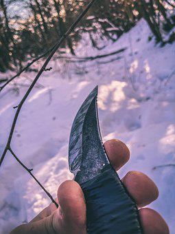 Knife, Bushcraft, Blade, Camp, Sharp, Forest