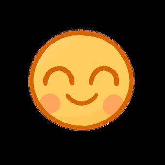 Happy, Smile, Emoji, Emoticon, Cartoon, Happiness