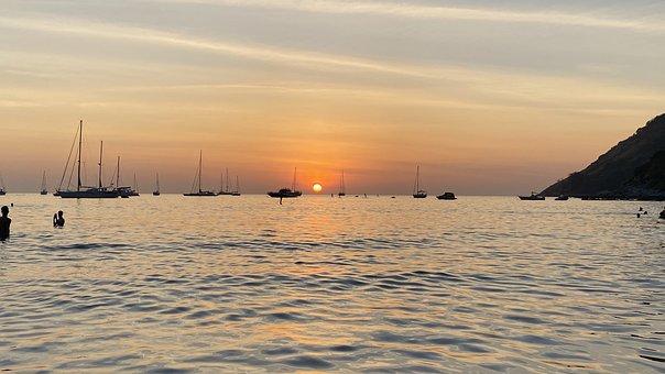 Thailand, Phuket, Sunset, Island, Nature, Vacations