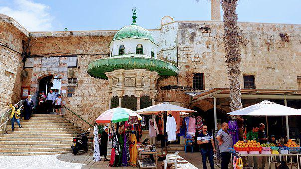 Mosque, Acre, Israel, Multicultural, History, Ancient