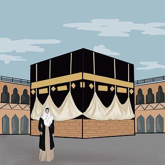 Kaaba, The Pilgrim's Guide, Mecca, Islam, Religion