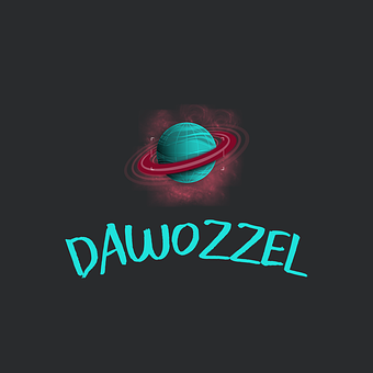 Planet, Saturn, Rings, Logo, Creative, Dawozzel