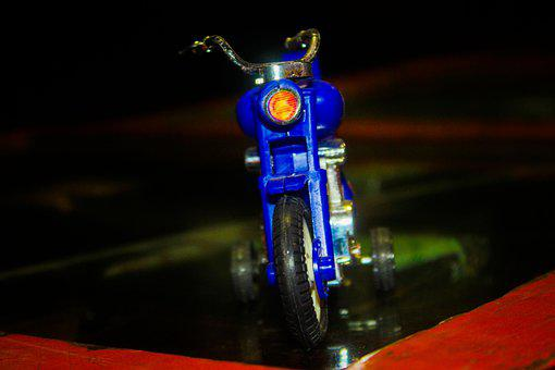 Motorcycle, Toys, Bike, Cop, Police, Toy, Motorbike