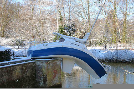 Park, Snow, White, Winter, Winter Fun, Nature, Forest