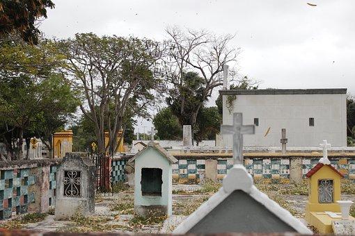 Graveyard, Graves, Memorial, Funeral, Religion