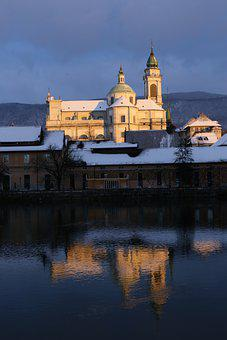 Solothurn, Cathedral, Switzerland, Winter