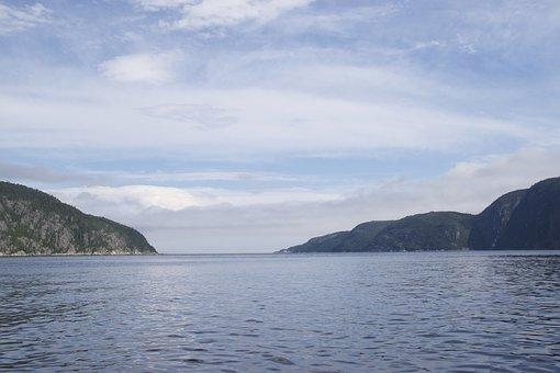 Tadoussac, Water, Saguenay, Canada, Landscape, Fjord