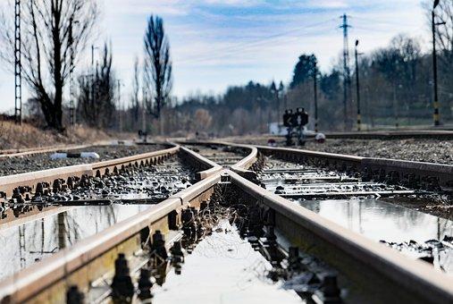 Tracks, Train, Rail, Train Station, Locomotive