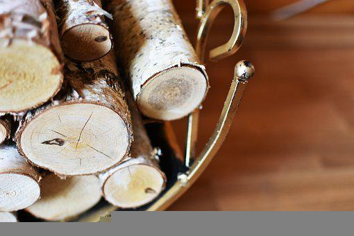Firewood, Birch, Branches, Cut, Tree, Nature, Heap