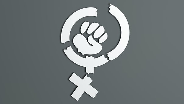 Feminism, Vandalism, Hate, Destruction, Conflict